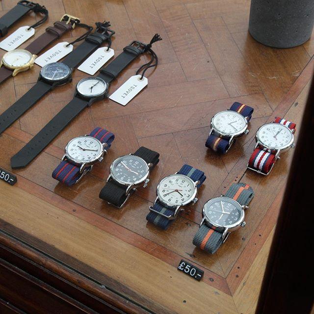 Timex weekender slip through watches #watches #timepiece #menswatch