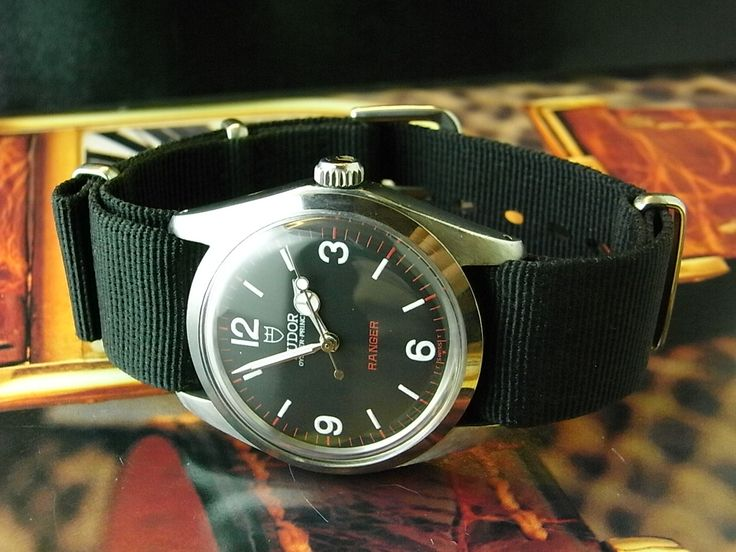 Tudor Ranger Military-Style Automatic Watch-90200. 34mm.