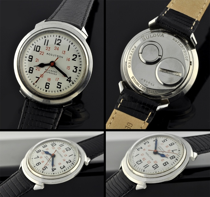 Vintage Bulova Railroad watch