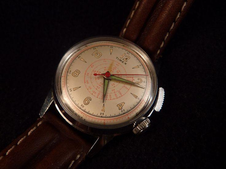 Vintage Timex Chronograph