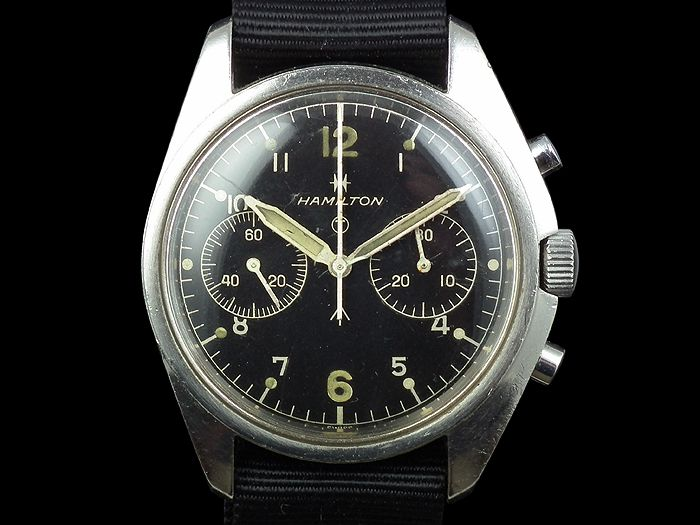 Time Spec: 1970's British Military Asymetrical Chronographs