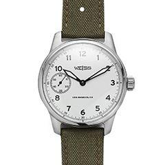 Weiss Field Watch (White Dial) - kaufmann-mercanti...