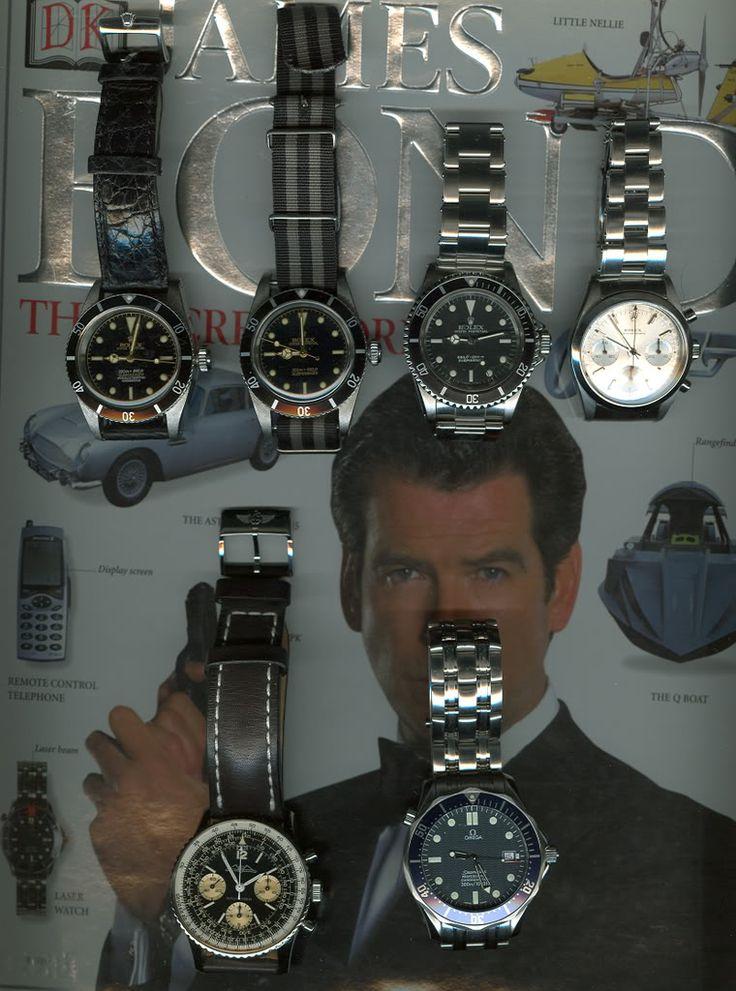 james bond memorabilia   Bond Watch Collection