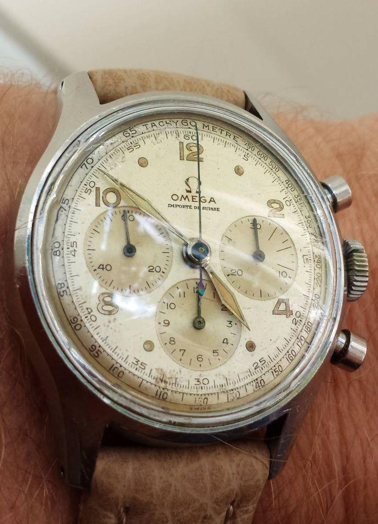 omegaforums: Awesome Vintage OMEGA Calibre 27CHRO Chronograph In Stainless Steel...