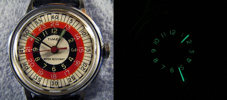 vintage timex bullseye - Google Search