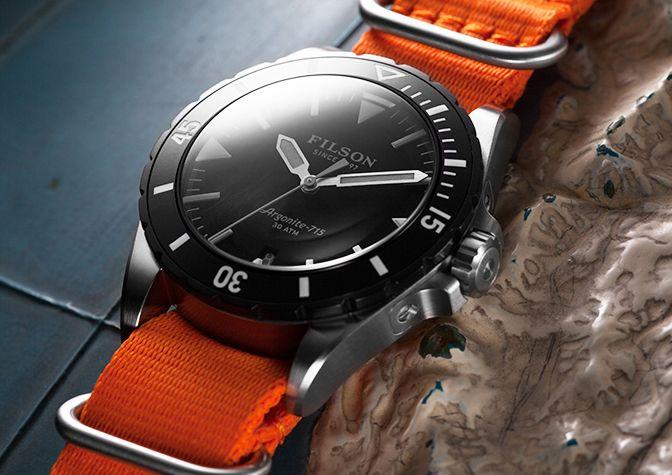 www.Filson.com   Dutch Harbor Watch Collection