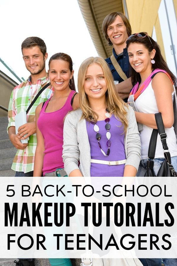 Did your mom teach you how to apply makeup when you were a teenager? Mine didn...