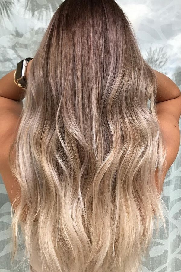 51 Ultra Popular Blonde Balayage Hairstyle & Hair Painting Ideas