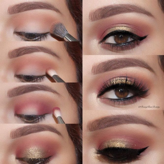 Ways of Applying Eyeshadow for Brown Eyes ★ See more: glaminati.com/...