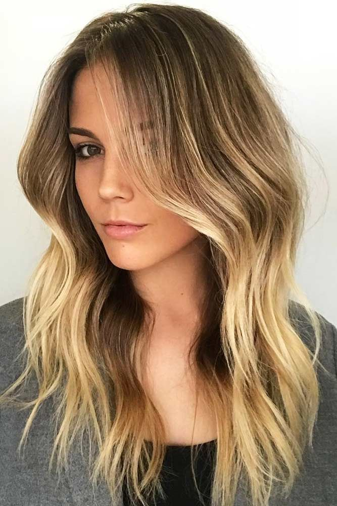 Hair Color 2017 2018 From Top To Bottom Partial Highlights