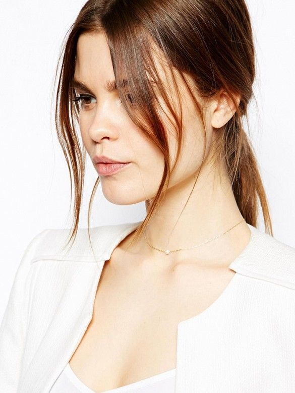 Ponytail with wispy strands. // #hair