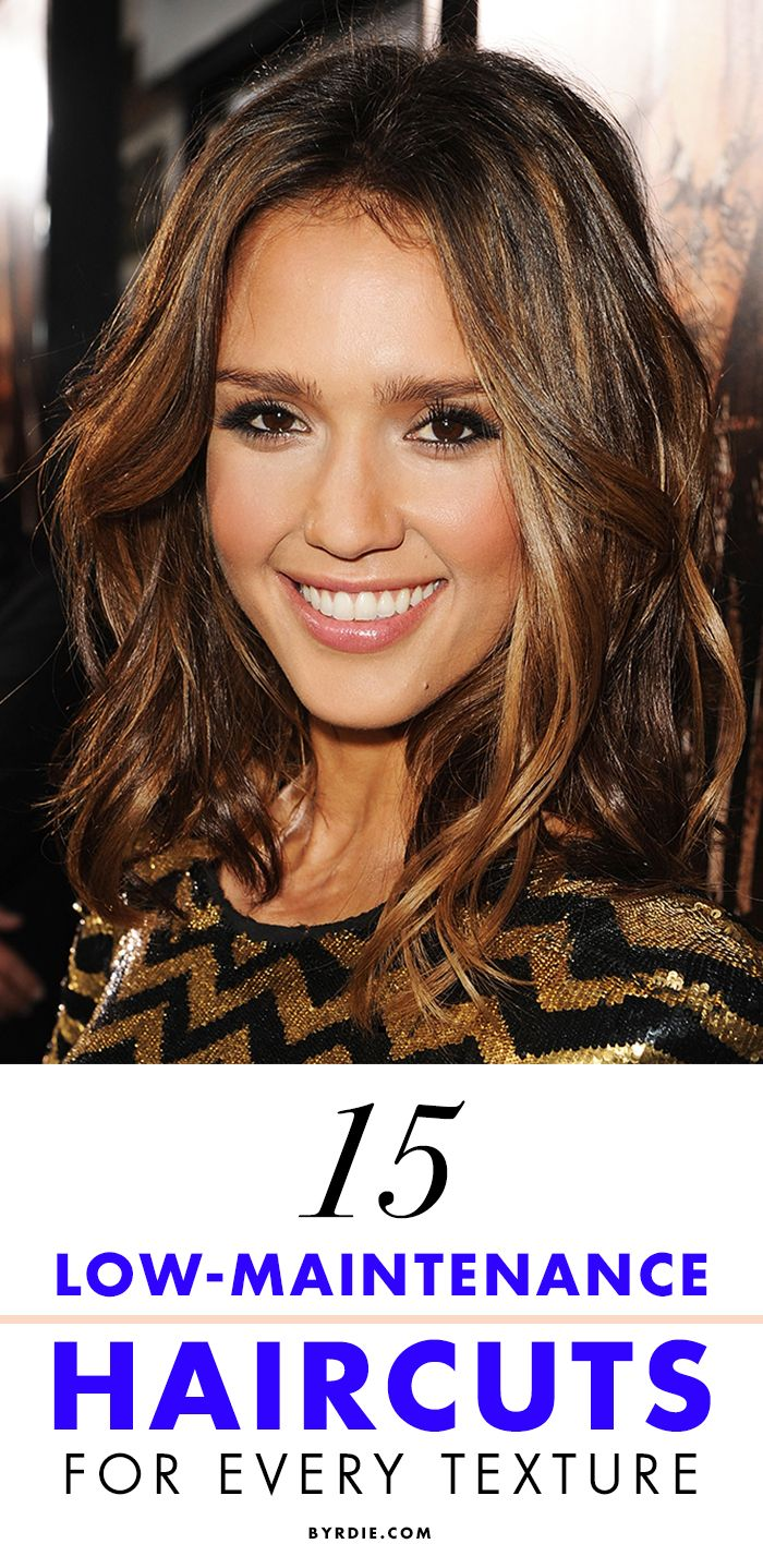 The 15 best low-maintenance haircuts for every hair type