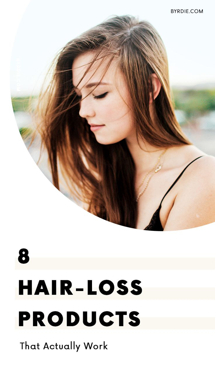 The best products for hair-loss