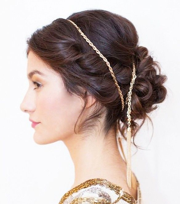 Throw in a few twists, a loose bun, an artfully placed headband for a chic haird...