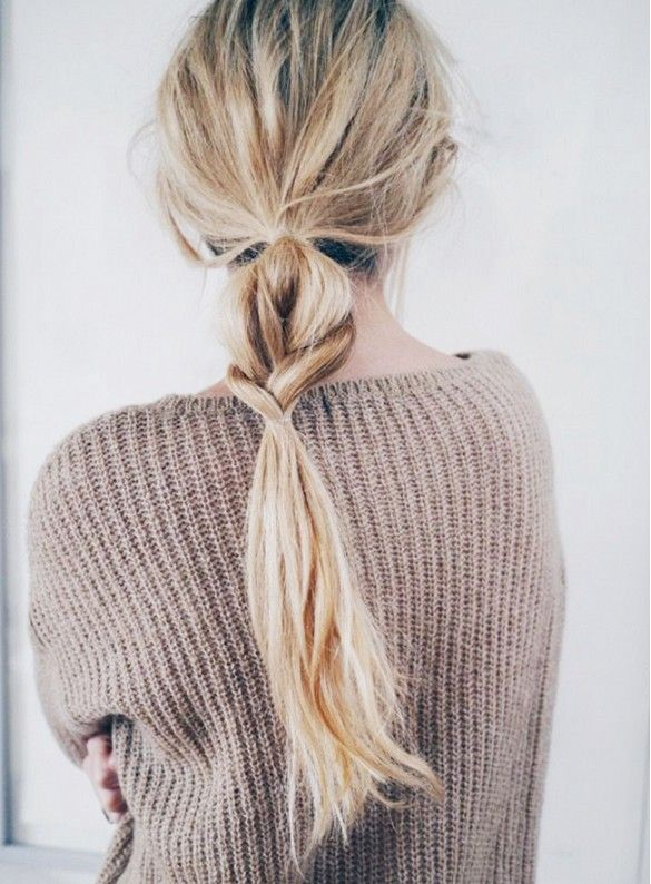 barely-there braid