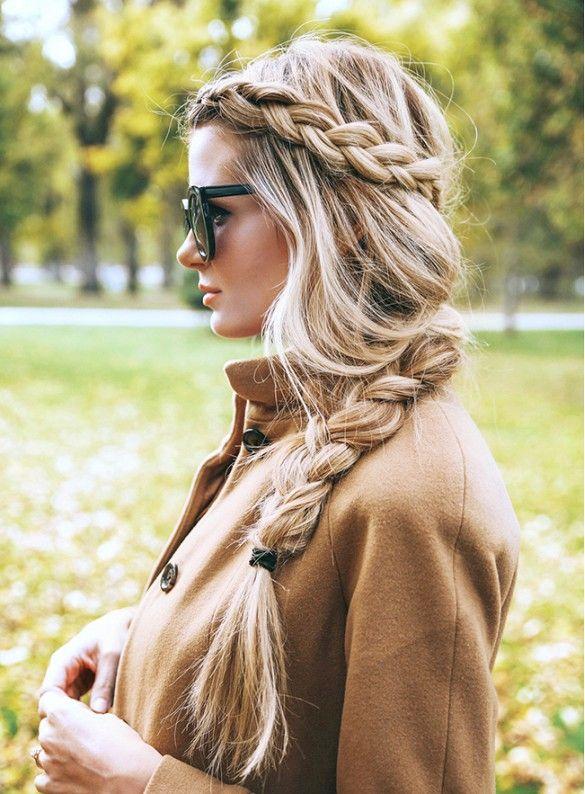 long chunky braids