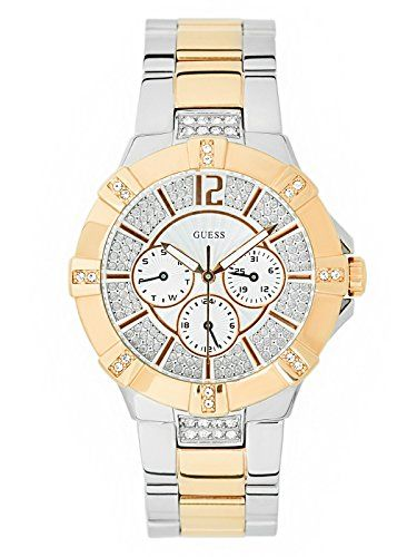 Guess Two-Tone Multifunction Watch *** Continue to the product at the image link...