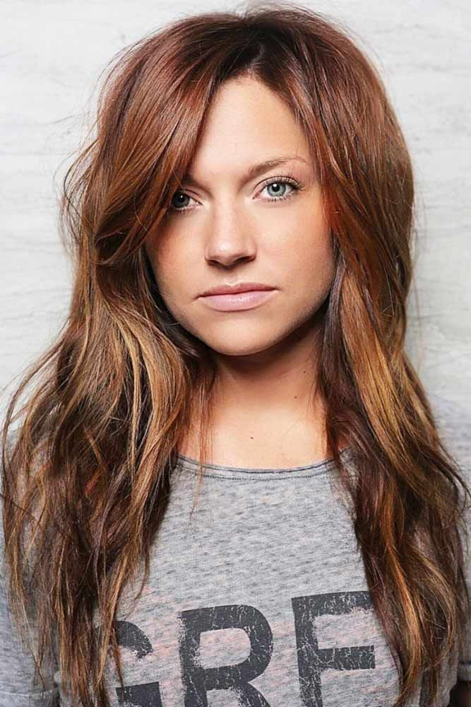 Auburn Hair #redhair #ombre ❤️ Want to catch people's eyes with bold dark re...