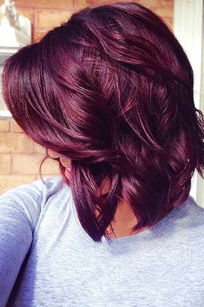 Hair Color 2017 2018 Burgundy Hair Redhair Want To Catch