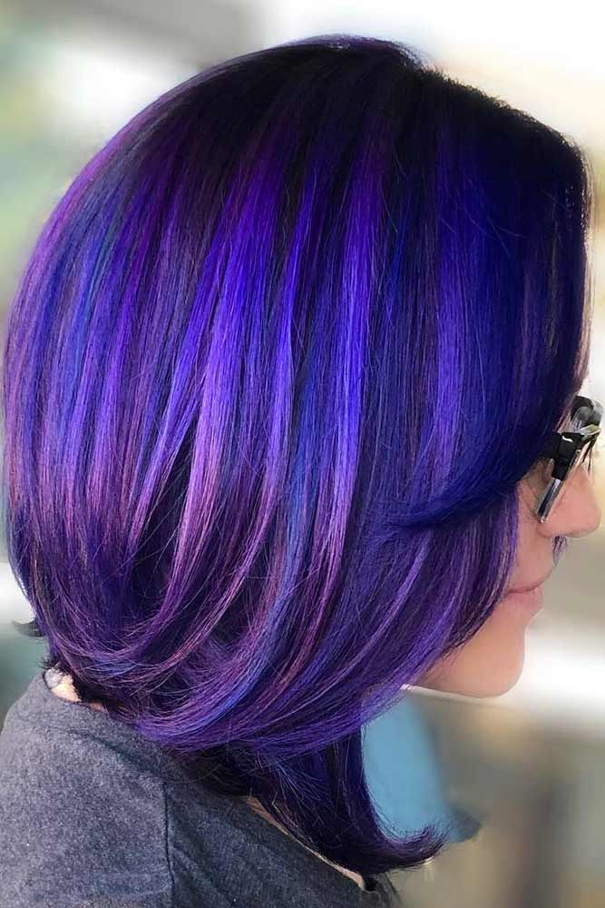 Demi-Permanent #temporaryhaircolor #brunette #violethair ❤️ Want to brighten...