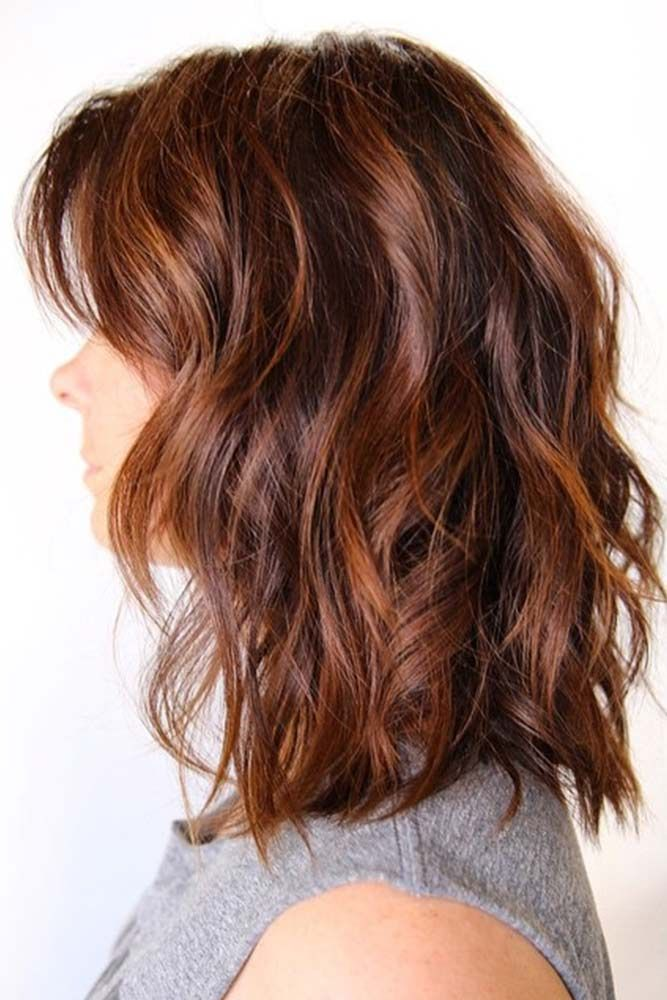 Medium Auburn Hair #redhair #highlights ❤️ Want to catch people's eyes with ...