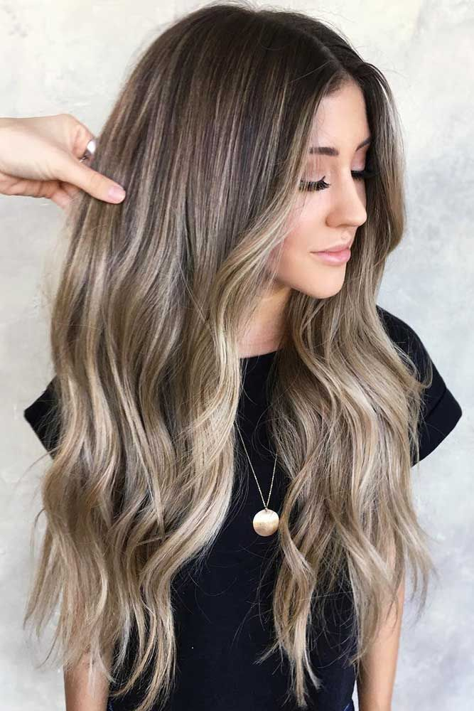 Partial Vs Full Highlights #highlights #brunette ❤️ Fancy accentuating your ...