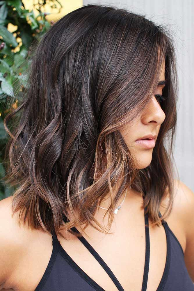 Soft And Effortless Browns #highlights #brunette #wavyhair ❤️ Fancy accentua...