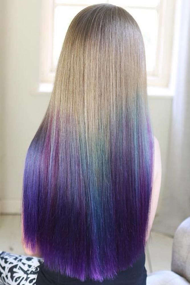 Temporary Hair Color Spray #temporaryhaircolor #ombre ❤️ Want to brighten yo...