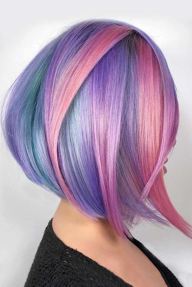 Vibrant Pastels #unicornhair #pinkhair ❤️ Want to pull off unicorn hair? A b...