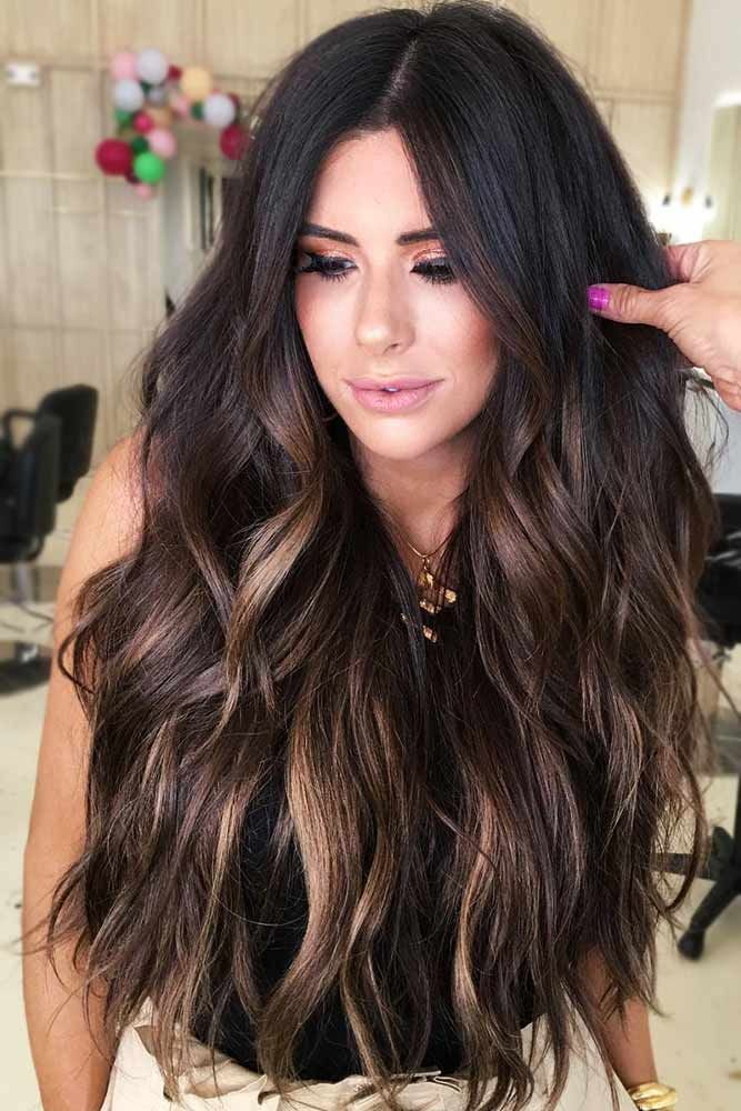 What Are Partial Highlights #highlgiths #brunette ❤️ Fancy accentuating your...