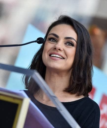 Mila Kunis Got French Girl Baby Bangs, and She Looks Like a Totally Different Pe...
