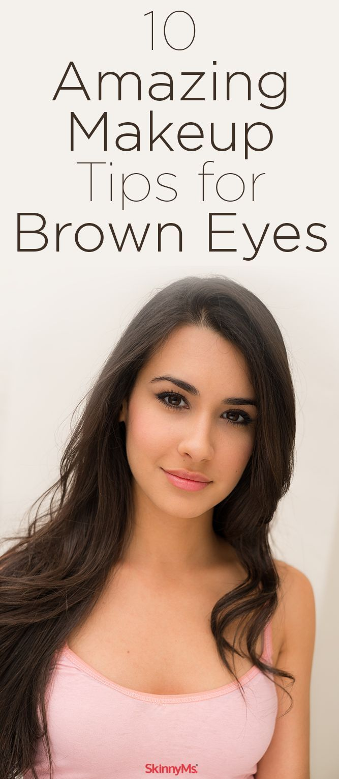 10 Amazing Makeup Tips to make your brown eyes look incredible. #browneyes #make...