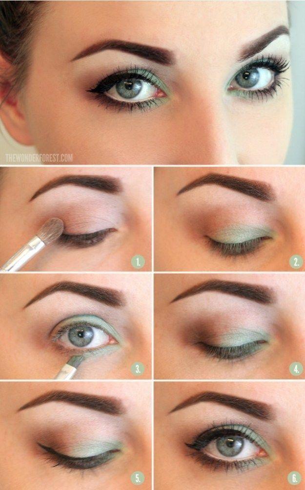 12 Best Makeup Tutorials for Green Eyes | Everyday Makeup Look by Makeup Tutoria...