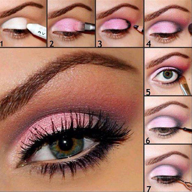 12 Best Makeup Tutorials for Green EyesFacebookGoogle+InstagramPinterestTumblrTw...