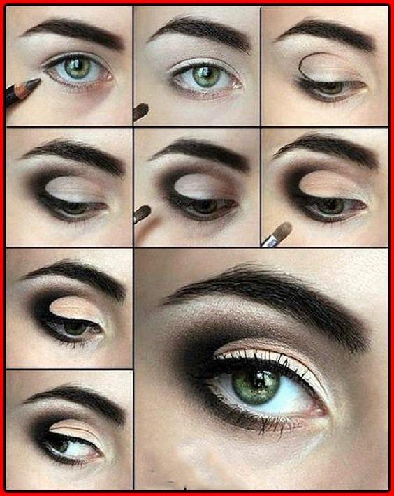 14 stilvolle Smokey Eye Makeup Tutorials  #makeup #smokey #stilvolle #tutorials