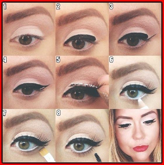 16 nützliche Cat Eye Makeup Tutorials  #makeup #nutzliche #tutorials