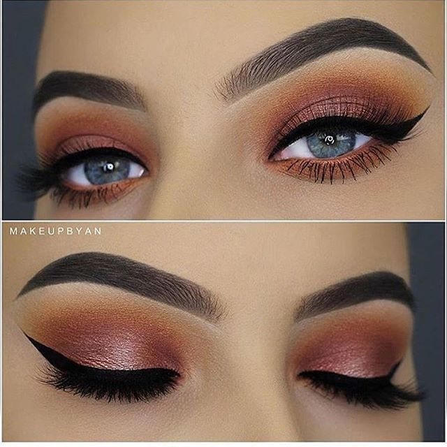 21 Pretty Makeup Ideas For Blue Eyes