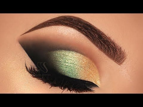 (29) Gold & Green Eyes + Perfect Skin | Melissa Samways - YouTube