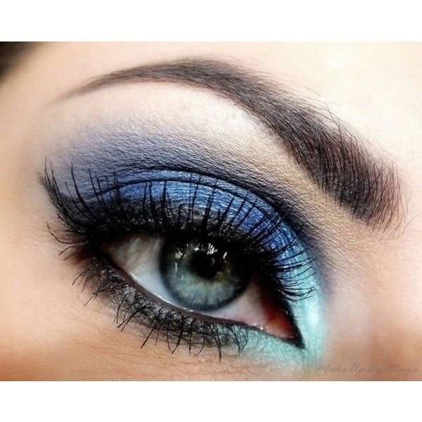 30 Glamorous Eye Makeup Ideas for Dramatic Look ❤ liked on Polyvore featuring ...