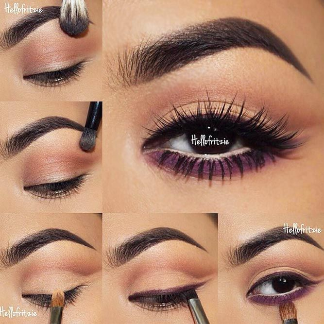 60 Ways of Applying Eyeshadow for Brown Eyes ★ Eye Makeup Tutorials for Brown ...