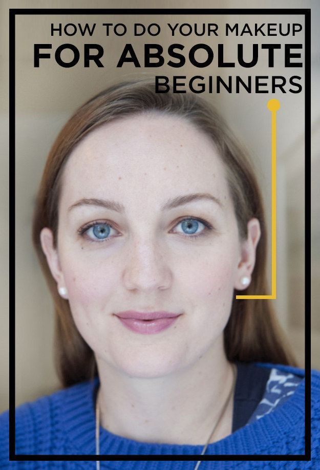 A Very Easy Make-Up Lesson, For Absolute Beginners. I'm terrible at makeup, ...