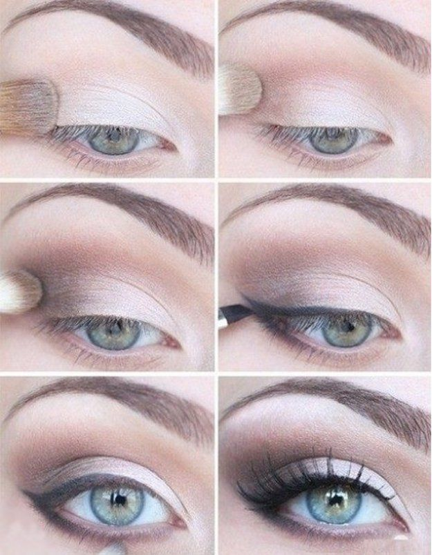 A soft and simple eye makeup for your blue eyes! | Eyeshadow Tutorials for Blue ...