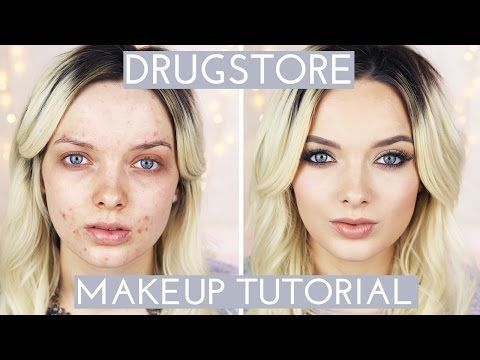 Acne Coverage // Drugstore Makeup Tutorial // MyPaleSkin - YouTube