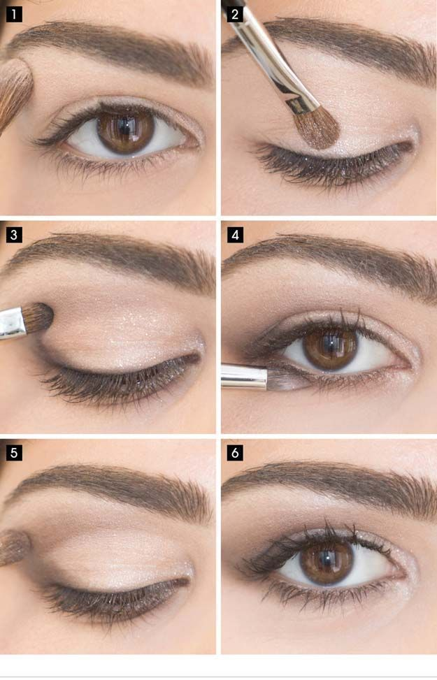 Best Eyeshadow Tutorials - Easy Eye Look - Easy Step by Step How To For Eye Shad...