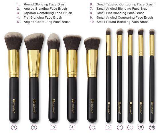 Best Ideas For Makeup Tutorials    Picture    Description  10 PC Premium Makeup ...