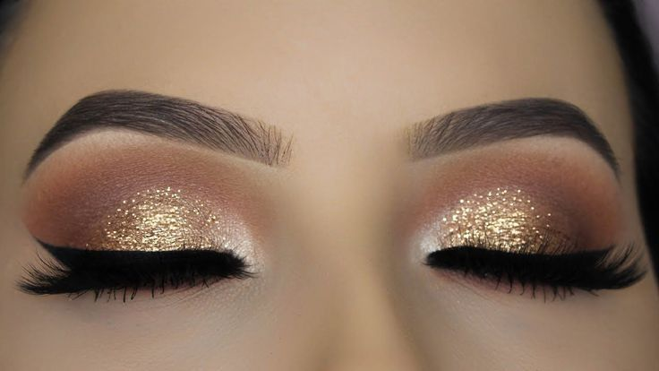 Best Ideas For Makeup Tutorials    Picture    Description  Classic Brown Glitter...
