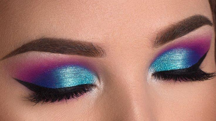 Colorful Summer Smokey Eye Makeup Tutorial   Jaclyn Hill x Morphe Palette www.yo...