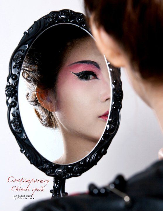 Contemporary Chinese Opera Makeup Tutorial's Video  This time is the most po...