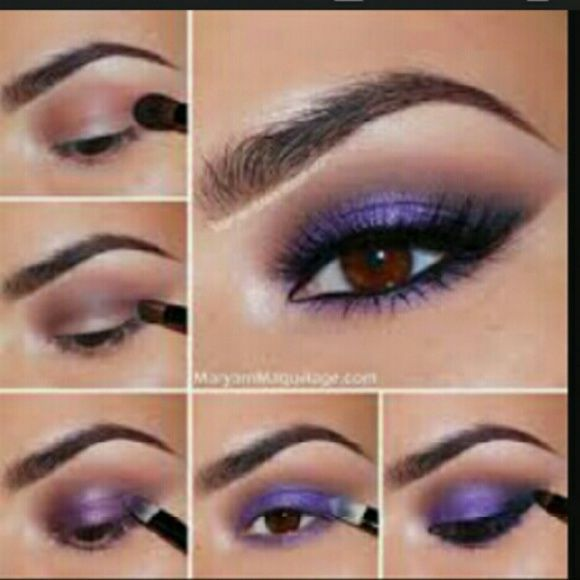 Create The Look W/ Elf & M.A.C Get this look with three easy  steps black eyelin...