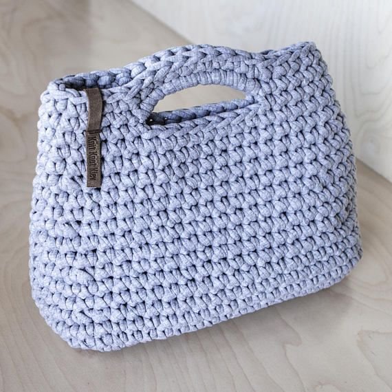 Crochet Chunky Yarn Handbag Video Tutorial and Pattern/